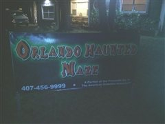 Orlando Haunted Maze
