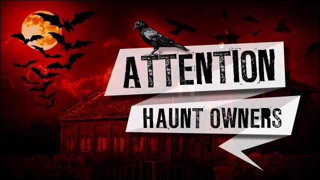 Attention Orlando Haunt Owners